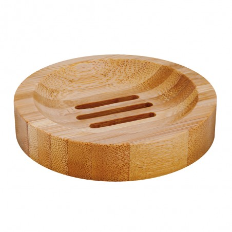 Bamboe zeepbakje rond. Groll & Denecke