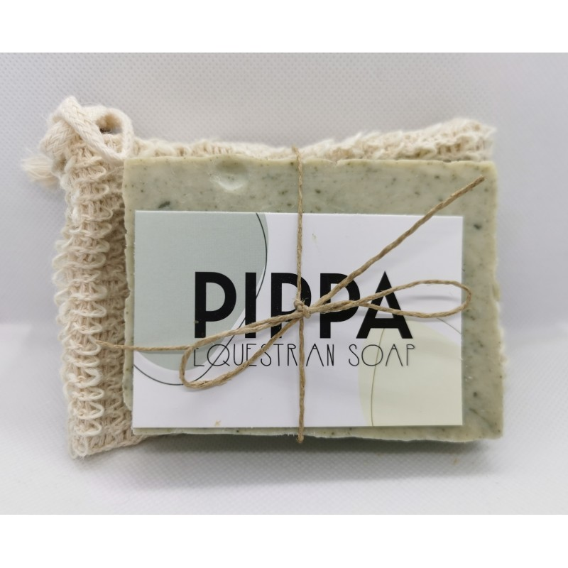 Paardenzeep Pippa equestrian zeep. Eucalypthus  - Tea tree