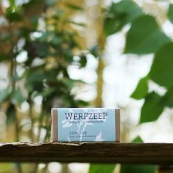 Comfrey zeep, Werfzeep.