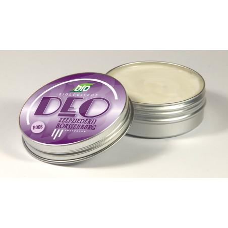 Biologische deodorant Roos, Zeepziederij Borssenburg.