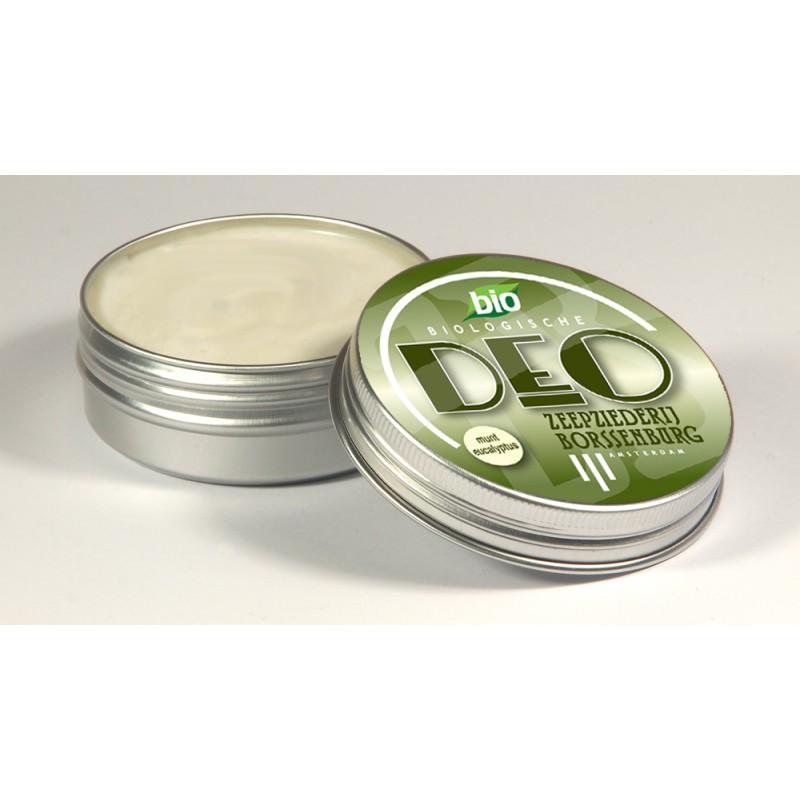 Biologische deodorant munt, Zeepziederij Borssenburg.